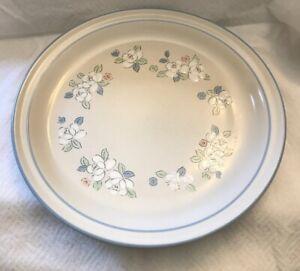 "Hearthside Japan Chantilly FLEUR DE LUNE Set of 2 Dinner Plates 10 5/8"" Blue"