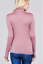 Women-Long-Sleeve-T-Shirt-Slim-Fit-Turtle-neck-Pullover-High-Tops-Casual thumbnail 32