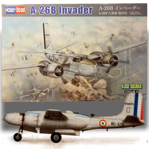 HOBBYBOSS 1//32 A-26B INVADER KIT 83213
