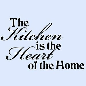 THE-KITCHEN-IS-THE-HEART-OF-THE-HOME-Cupboard-Wall-Art-Sticker-Transfer-Medium