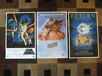 Star Wars Trilogy (11 X 17) Movie Collector's Poster Prints (set Of 3)