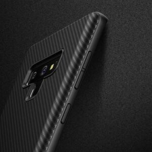 For Samsung Galaxy Note 9 Note8 Slim Carbon Fiber Shockproof Soft TPU Case Cover