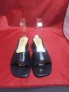 Navy Blue Sandals Size 8.5M