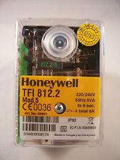 Satronic Honeywell TFI 812.2 Mod.5  Gasfeuerungsautomat Relais Steuergerät