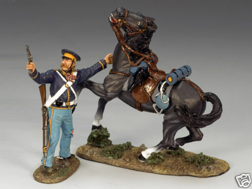 KING AND COUNTRY DISMOUNTED DRAGOON & PISTOL TRW10 TRW010