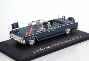 John F Kennedy Presidential Car Us 1963 Lincoln Continental Jfk 1 43