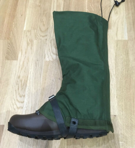 BRITISH ARMY WATERPROOF GAITERS - NEW IN PACKETS, SNOW, HIKING, ARCTIC [32609]