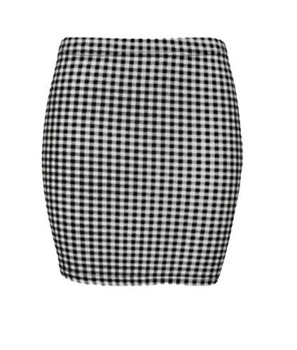 Women Printed Mini Pencil Skirts Ladies Stretchy Short Bodycon Fancy Top
