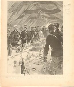 President-Jean-Casimir-Perier-Fort-de-Vaujours-FRANCE-GRAVURE-ANTIQUE-PRINT-1894