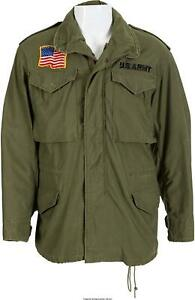 Us John Giant Army Mens Olive 100 Jacket Rambo Militare Parka M65 Cotton Green T5wYq