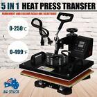 Ridgeyard 5-in-1 Heat Press Machine Transfer Sublimation T-Shirt Mug