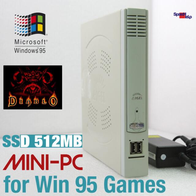 COMPUTER PC WINDOWS 95 98 SSD RS-232 PARALLEL OLD GAMES DIABLO DUNE CIVILIZATION