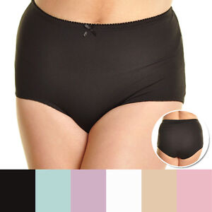 fda90ee6c3 WOMEN S PLUS SIZE LIGHT CONTROL PANTY BRIEF(SEE MEASUREMENTS) 2XL ...