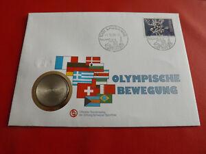 * SUISSE NUMISBRIEF 1988 * mouvement Olympique * avec 5 francs 1988 (alb21)-afficher le titre d`origine 6ItVoyR5-07133844-859591624