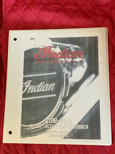 2018 2019 Indian Scout Scout Sixty Bobber service manual ...