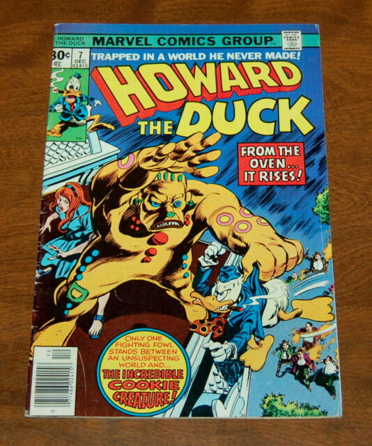 Howard the Duck #7 (Dec 1976, Marvel) Cookie Creature, VG/FN Comic