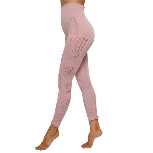 Chic Sports Women Leggings Hollow Seamless Hip Lifting Fitness Pencil Pants XD#3