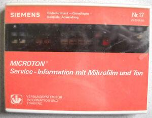 SIEMENS-VIT-System-MICROTON-Nr-17-BTX-Grundlagen-Beispiele-Anwendung