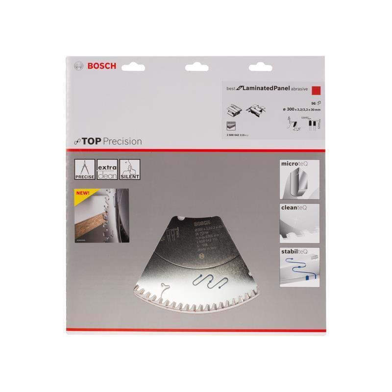 Bosch HM Sägeblatt Beste for LaminatedPanel abrasive 300x30x3,2 mm, Z=96 TR-