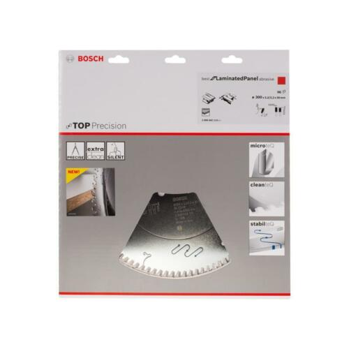 Bosch HM lame de scie Best for LaminatedPanel abrasif 300x30x3,2 MM z = 96 tr