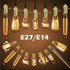 E27 E14 Edison Vintage LED Lampe Licht Filament Retro Nostalgie Glühbirne Bulbs