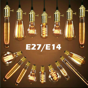 e27 e14 edison vintage led lampe licht cob globe retro. Black Bedroom Furniture Sets. Home Design Ideas