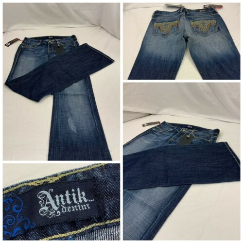 Sz Mexico Jeans Made Nwt Y8 Cotton 26 437cg Blå Ygi Antik 100 Denim In aEpxTwwqF