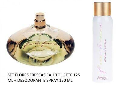 SET FLORES FRESCAS 125 ML EAU TOILETTE + DEO SPRAY 150 ML VICTORIO & LUCCHINO | eBay