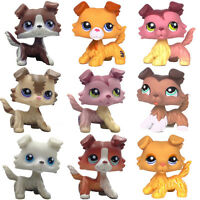 PUZZLE-CHIEN-COLLEY-S Littlest Pet Shop dog toys LPS dog #1723