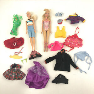 Barbie Lot Some Retro Vintage Clothes And Others 2 Barbies Toy3 Ebay