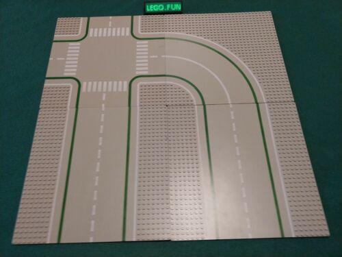 LEGO® 4 x große Straßenplatten Bauplatten 32x32 Noppen Street City Legoland P2