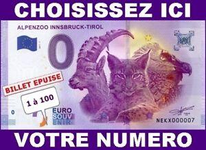 Ne Kx-1 / Alpenzo / Billet Souvenir 0 Euro 2017-1 Epuise (tres Petits Numeros) Jmoh4c6v-08000603-152536888