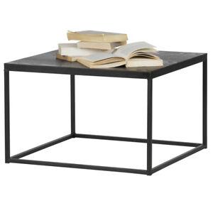 Beistelltisch-Couchtisch-RIO-55-x-55-cm-Tisch-Kaffeetisch-Metall-Holz-schwarz