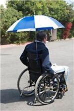 "Wheelchair Umbrella, Blue and White - 40"" diameter Model # A-WCU - NEW - each"