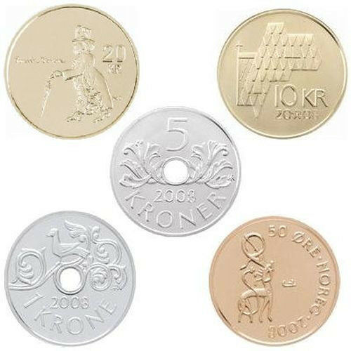 """2010 Norway Classic Uncirculated Coin Set /""""Ole Bull 200 Years/"""""""