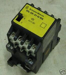 Details about Klockner Moeller Contactor DIL 08-31-G-NA, 10 AMP, 300 VAC,  Used, Warranty