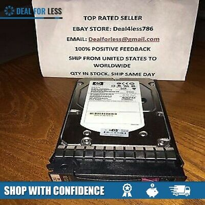 "HP 431944-B21 432146-001 300GB 15K SAS SP 3.5/"" HARD DRIVE"