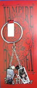 Vampire-Knight-Metal-Kaname-and-Zero-Key-Chain-Anime-Licensed-NEW