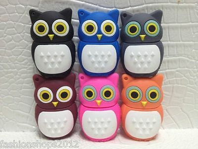 Cartoon OWL model USB 3.0 Memory Stick Flash pen Drive 8GB 16GB 32GB ODP492