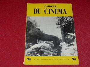 REVUE-LES-CAHIERS-DU-CINEMA-N-94-AVRIL-1959-ROSSELLINI-Entretien-EO-1rst