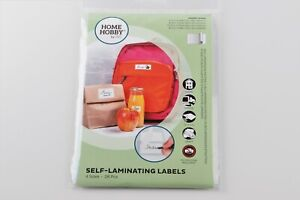 HOMEHOBBY by 3L Self Laminating Labels 4 Different Sizes No Machine Required