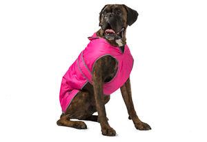 Dog-Coat-Ancol-Muddy-Paws-Stormguard-amp-Fleece-Lining-Pink