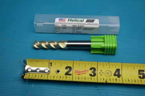 NEW HELICAL H45AL-M-30375 ENDMILL