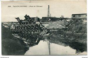 CPA - Cartes postales - France -Valenciennes - Pont de l'Escaut 1932 (CP943) | eBay