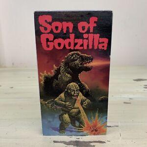 SON-OF-GODZILLA-Vtg-1987-VHS-Movie-Tape-1967-Toho-Company-Video-Treasures