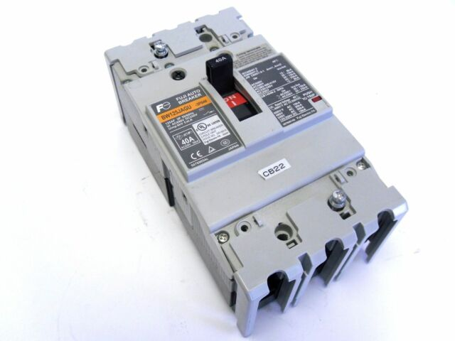 Fuji Auto 100 Amp Circuit Breaker BW125JAGU   eBay