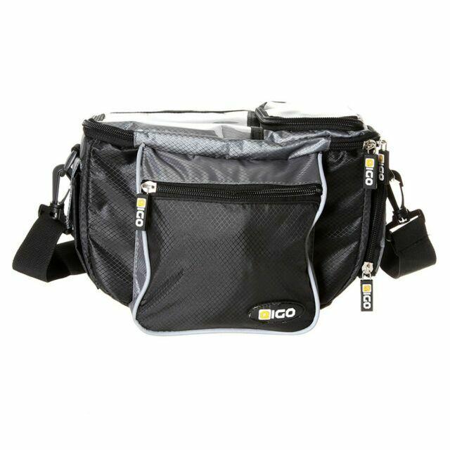 Bike-It Eigo Bicycle Cycle Bike MTB RipStop Q//R Handlebar Bag Luggage LUG0054