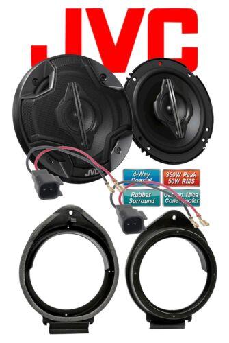 JVC Haut-parleurs pour OPEL Astra J à partir de 12//2009 portes avant 4 voies 350 W