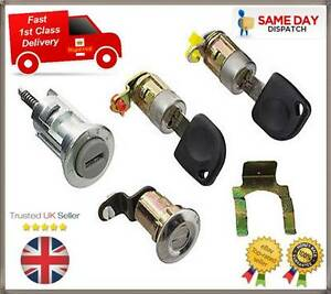 DAEWOO-MATIZ-NEW-IGNITION-SWITCH-LOCK-BARREL-BOOT-DOOR-LOCK-amp-2-KEYS-96315607