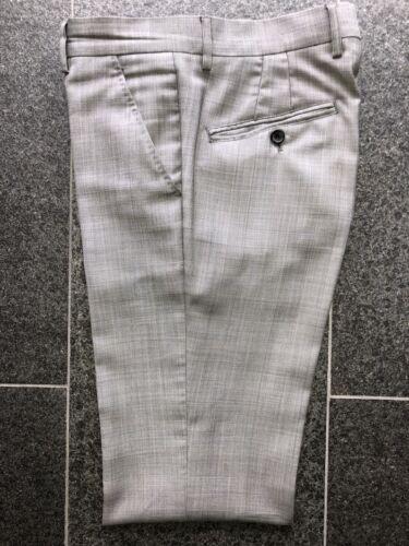 John Galliano Glencheck Fine Cloth Suit Pants 46 T